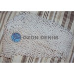 Elastic Netting For Denim Wash